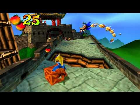 Crash Bandicoot 3: Warped (PS1) walkthrough - Orient Express
