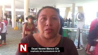 Denuncian despidos injustificados en Isla Mujeres