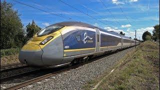 Eurostar et Thalys sur la ligne classique Paris-Lille
