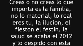 Porta- Felices Fiestas [Letra] 2013