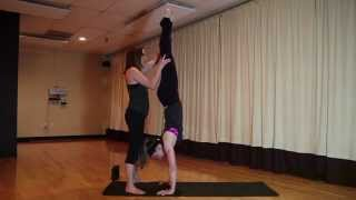 How To Do Handstand Pose (Adho Mukha Vrksasana)