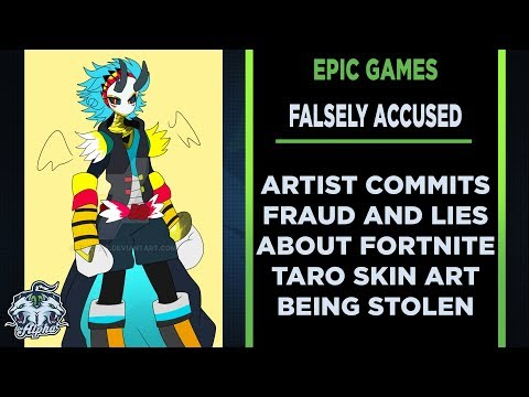 Artist Defames And Falsely Accuses Epic Games Of Stealing Taro Outfit Art