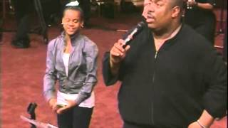 John P. Kee Gives A Little Girl A Bunch Of Money At West Angeles COGIC