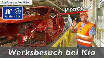So wird ein Kia Ceed / Proceed gebaut: Werksbesuch bei Kia in Zilina   Ausfahrt.tv Wissen