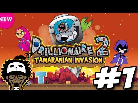 Cartoon Network Games | Teen Titans Go! | Drillionaire 2: Tamaranian Invasion #1