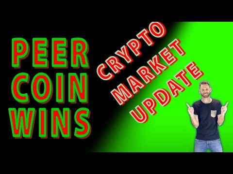 PEER COIN IS WINNING | Crypto market update | silver is bullish | diversify your crypto portfolio