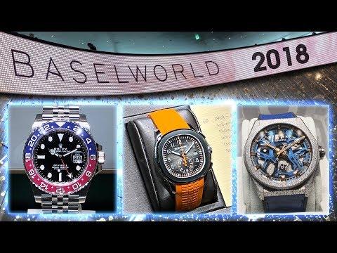 Baselworld 2018 - Watch Show - Rolex, Omega, Hublot, Tudor, Zenith, Patek Philippe & More
