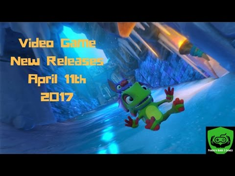 Video Game New Releases April 11th 2017