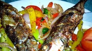 Frying Fish delicious |HOMEMADE RECIPE |ASIYA KITCHEN |SRILANKA