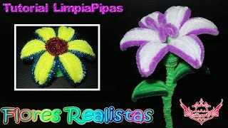 Repeat youtube video ♥ Tutorial: Flores Realistas en 3D de Limpiapipas ♥