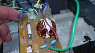 Ремонт СВЧ.  Проверка фильтра питания.   Repair of the microwave. Check supply filter.(Очередное видео, которое поможет отремонтировать микроволновую печь своими руками. Всем, кто желает поддер..., 2017-01-17T16:53:06.000Z)