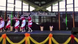 Jhumoor - Assamese Dance - 2015, USA