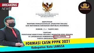 Formasi PPPK Kota Langsa 2021