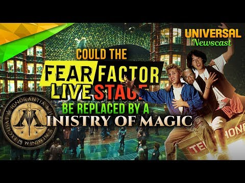What could REPLACE Fear Factor Live & Bill and Ted?? - Universal Studios News 08/23/2017