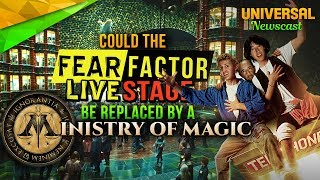 Will Ministry of Magic replace the Fear Factor & Bill and Ted? - Universal Studios News 08/23/2017
