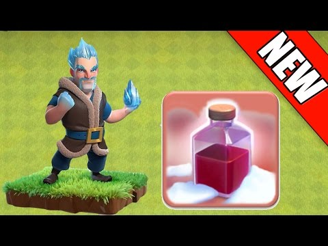 Clash of Clans - NEW ICE WIZARD, CHRISTMAS SPELL, FREEZE TRAP ...