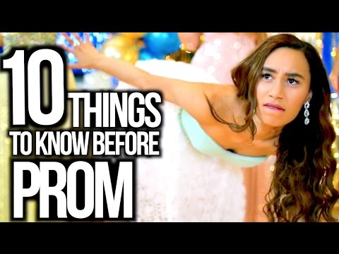 Thumbnail: 10 Things To Know Before Prom 2015! Makeup, Date Life Hacks + More!