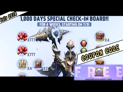 Seven Knights - Coupon July 2018