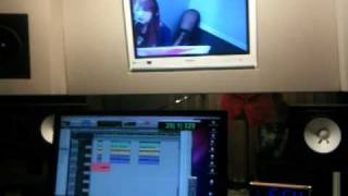 葉月2曲目のオリジナル曲 「BUBBLE☆SQUASH!」のレコーディング映像です。