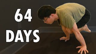 REAL Beginner Zero to Tuck Planche Progression in 64 Days - Road to Full Planche Ep1