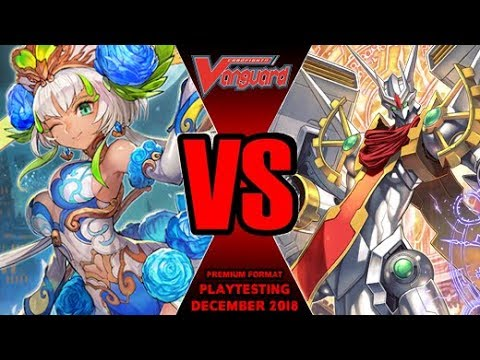 Blue Ahsha Vs Zodiac Time Beast - Cardfight Vanguard Premium Playtesting December 2018