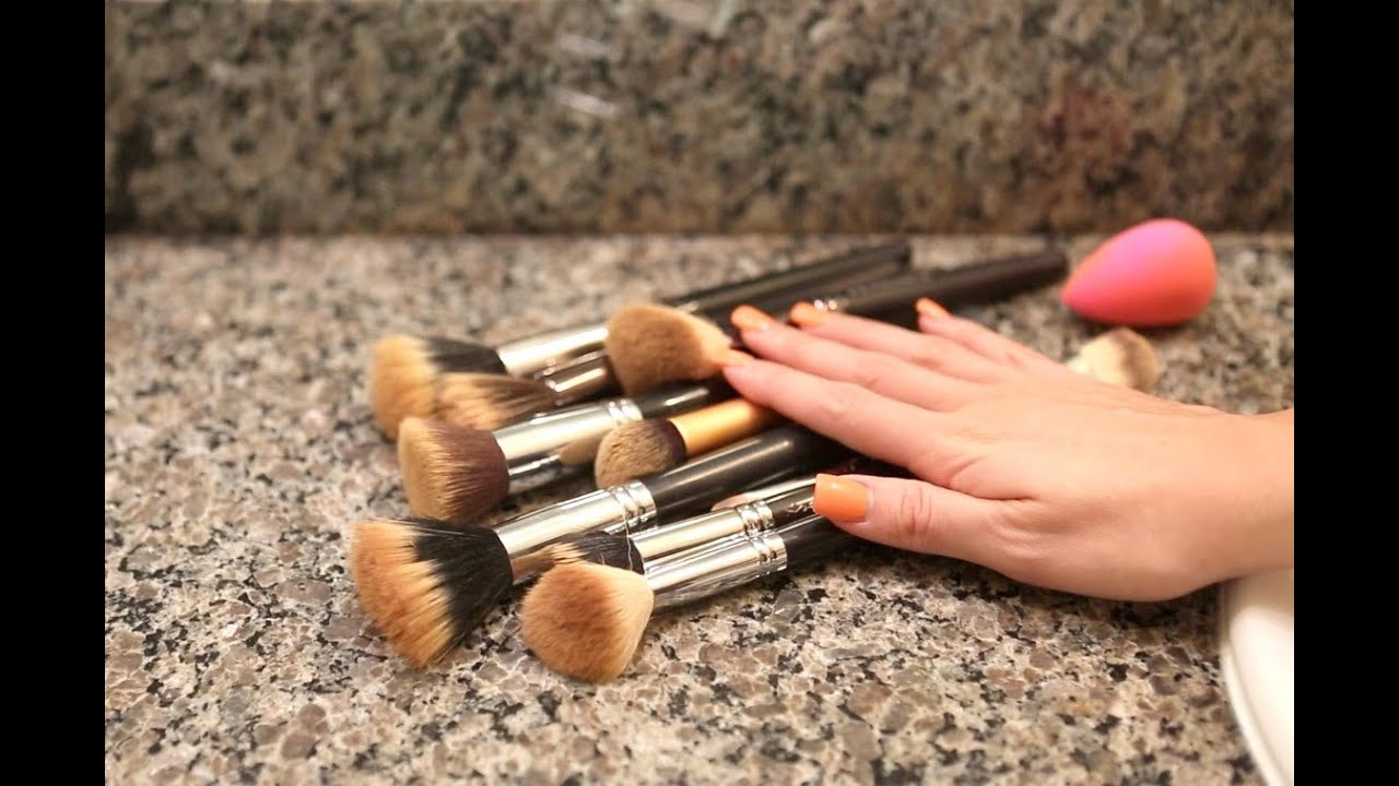 How to: Clean Your Makeup Brushes! - YouTube