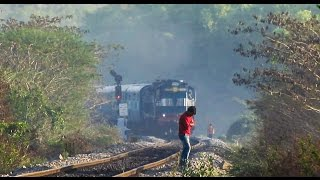Early Morning ALCO show at the Highway - Indian Railways