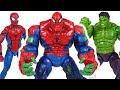 أغنية Marvel Avengers Hulk and Spider Man combine! Spider-Hulk!! Defeat the Thanos! | DuDuPopTOY