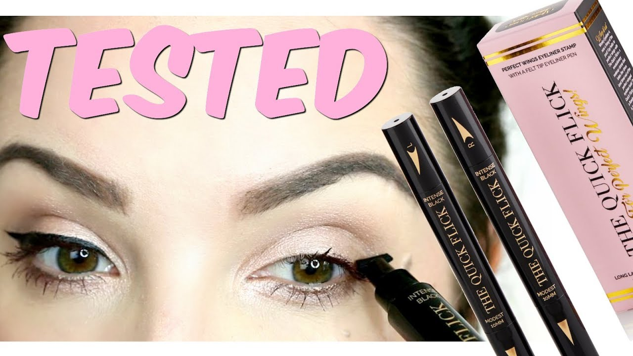 Testing Out The Quick Flick Eyeliner Stamp Bn Reviews