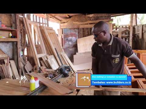 BUILDERS EP 11   FURNITURES   Uwekaji wa samani ndani ya nyumba zetu (vitanda, makochi, meza, n.k. )