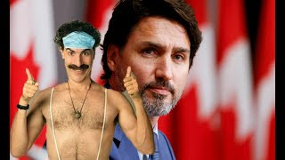 BORAT BATTLEGROUND: Move over, Giuliani! Sacha Baron trolls Trudeau!