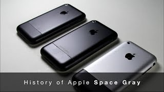 애플 스페이스 그레이의 역사