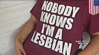 Lesbian student suspended over controversial T-shirt at South Carolina high school - TomoNews