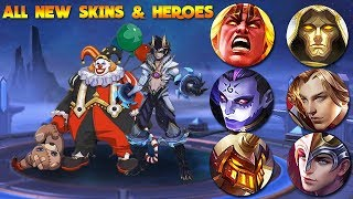 3 NEW HEROES amp 30 NEW SKINS MOBILE LEGENDS
