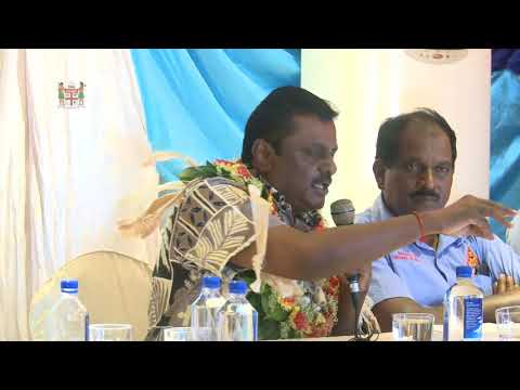 Fijian Minister for Local Government, Hon. Parveen Kumar opens Annual General Meeting,
