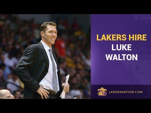 Lakers Hire Luke Walton As Their New Head Coach