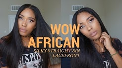 Virgin Brazilian Lace Front Wigs with 5In Lace ft. WowAfrican