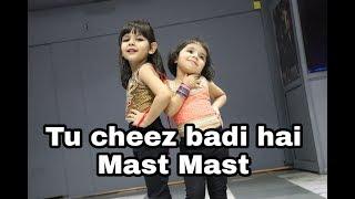 Cheez Badi hai mast mast Full dance Video | top kids dance | 3.5 year kids