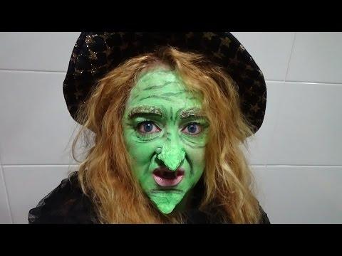 maquillaje de bruja mala halloween - Maquillaje Bruja