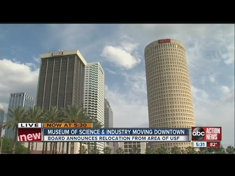 Museum of Science and Industry moving to downtown Tampa
