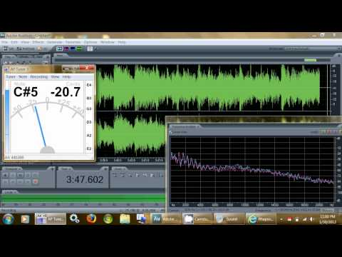 Vinyl EP VS. MP3, Frequency + Music Tuner Analysis - Heart - These Dreams