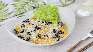 Салат из сырой цветной капусты | Рецепты Веган Vegan | Яна Вегана