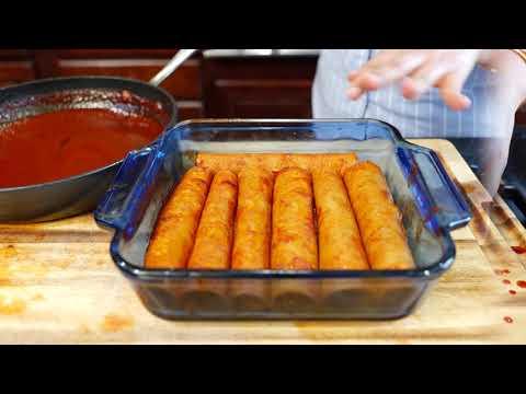 Vegan Enchiladas Rojas | Enchilada Sauce Recipe | Vegan Mexican Food