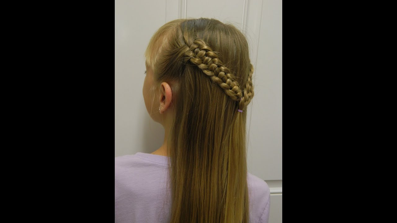 how to make a 4 strand snake braid bonita hair do youtube