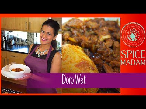 Ethiopia - Doro Wat - Slow Cooker Easier Version