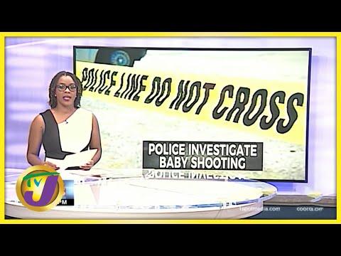 7 Month Old Shot in Kingston   TVJ News - July 13 2016