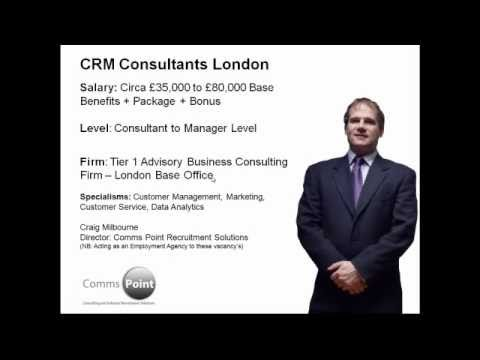 CRM Consulting Jobs London | CRM Marketing Sales Service | CRM Customer Management Consultants