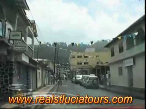 Soufriere St Lucia Tour Video