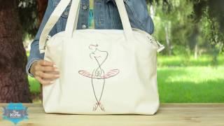 Женская сумка-саквояж Сетчел «Балерина» купить в Украине - обзор