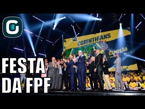 Festa Da FPF Com Comemoração Do Corinthians E Ausência Do Palmeiras- Gazeta Esportiva (10/04/18)
